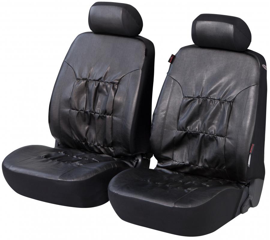 kunstleder autositzbezug nappa touch schwarz. Black Bedroom Furniture Sets. Home Design Ideas